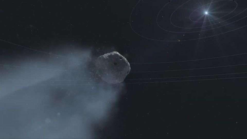 Raro cometa pasará por Marte