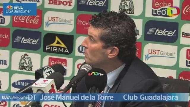Jornada 13, José Manuel de la Torre, León 2-1 Guadalajara, Apertura 2014