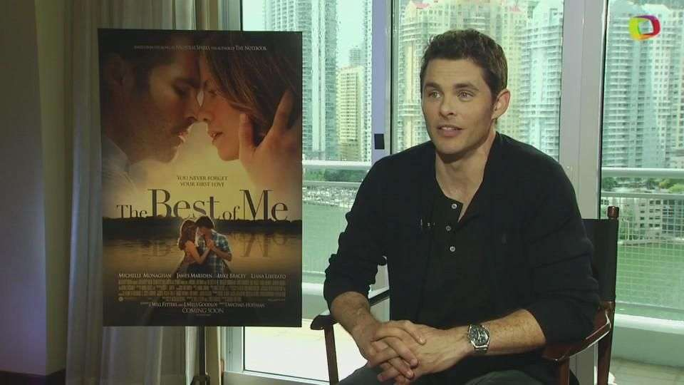 Entrevista exclusiva con James Marsden sobre 'The Best of Me'
