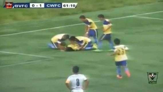 Terrible: Jugador muere tras celebrar un gol