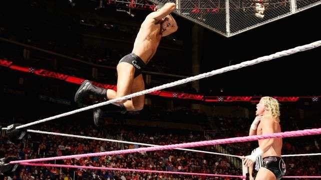 RAW: Dolph Ziggler sigue en caída libre y Cesaro lo aprovecha