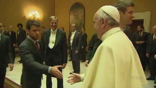 El Bayern, bendecido por el Papa
