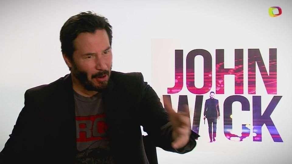 Entrevista con Keanu Reeves protagonista de John Wick