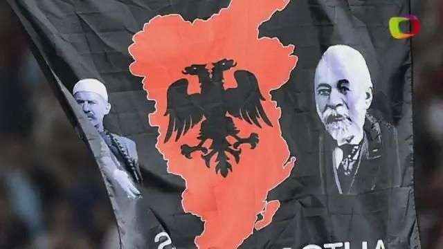 Serbia y Albania, el partido de la discordia