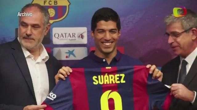 Luis Suárez, listo para jugar el clásico Real Madrid-Barcelona