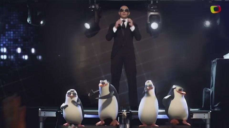 Video Musical de Pitbull - Celebrate, para nueva pelicula Penguins of Madagascar