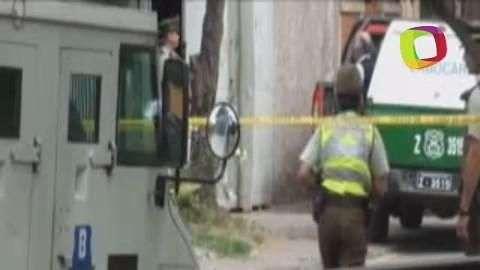 Asaltan camión blindado cerca de la sede del gobierno chileno