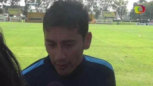 """""""Quiero ser referente y marcar de nuevo en el clásico: Rubens Sambueza"""
