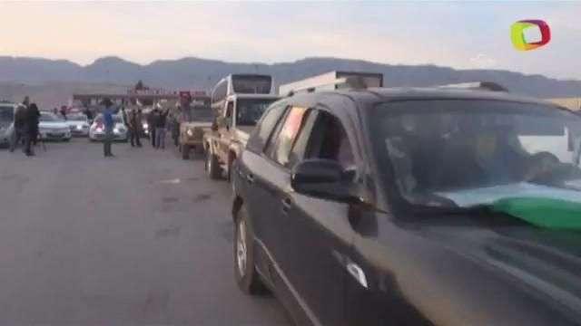 Llegan combatientes kurdos a Turquía