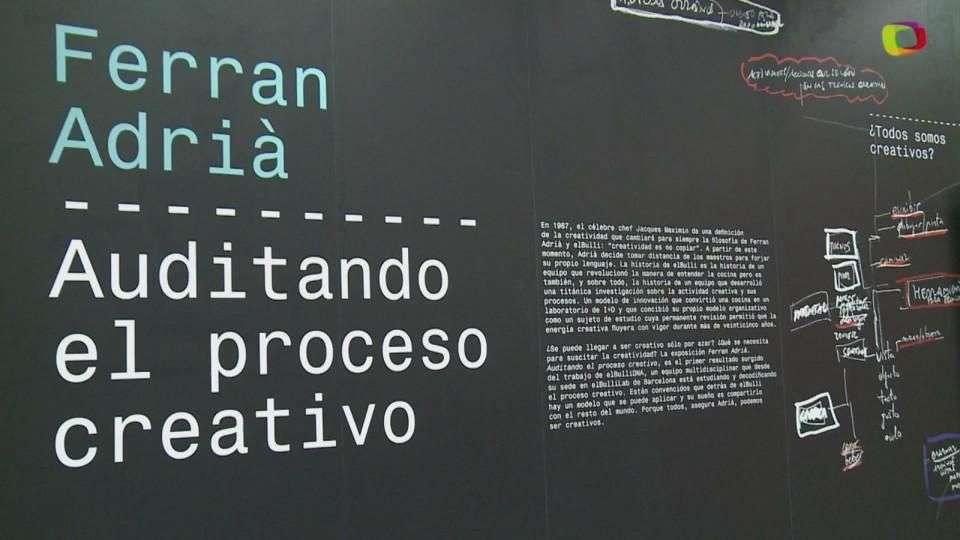 Ferran Adrià muestra su proceso creativo