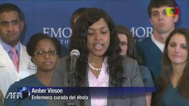 EEUU: enfermera con ébola deja hospital