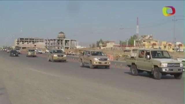 Llegan refuerzos a Kobane
