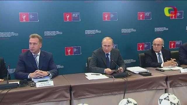 FIFA confía en Rusia para el Mundial