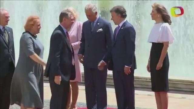 Príncipe de Gales y Camila Parker visitan Colombia