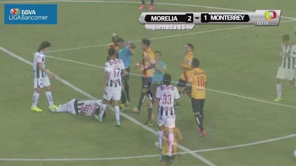 Jornada 15, Morelia 2-1 Monterrey, Apertura 2014