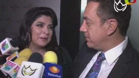 Esposo de Victoria Ruffo dice que su divorcio con la actriz 'no se le hizo'