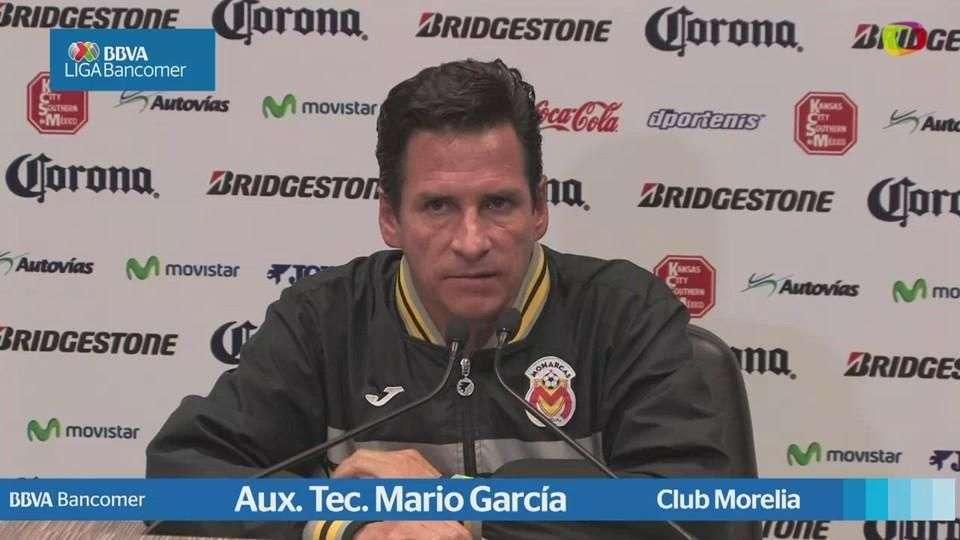 Jornada 17, Mario García Aux. Tec. , Morelia1-2 Guadalajara, Apertura 2014