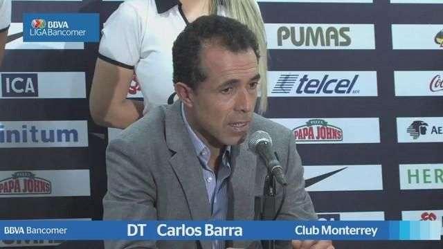 Jornada 17, Carlos Barra,  Pumas 4-2 Monterrey , Apertura 2014