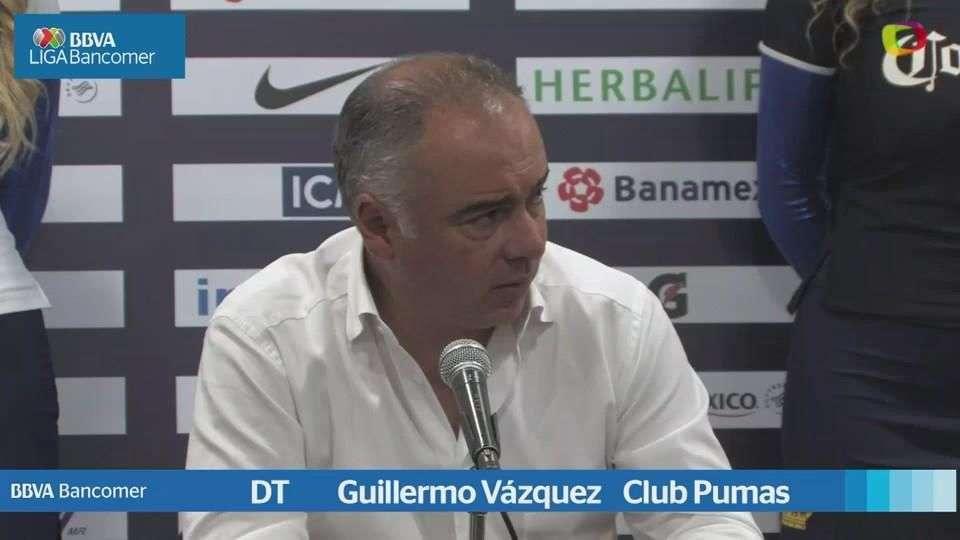 Cuartos de final, Guillermo Vázquez, Pumas 1-0 América, Apertura 2014