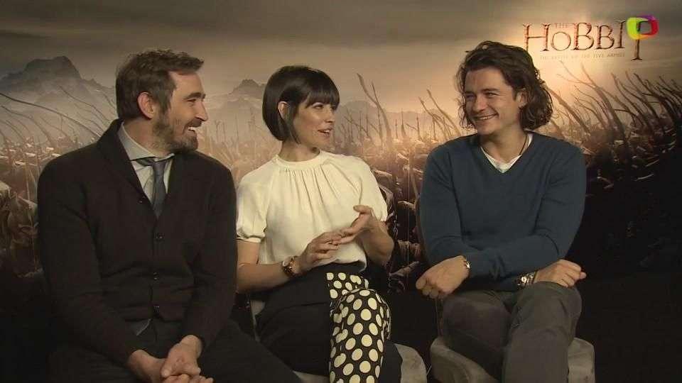 Orlando Bloom, Evangeline Lilly y Lee Pace, los elfos más 'hot' de 'The Hobbit 3'