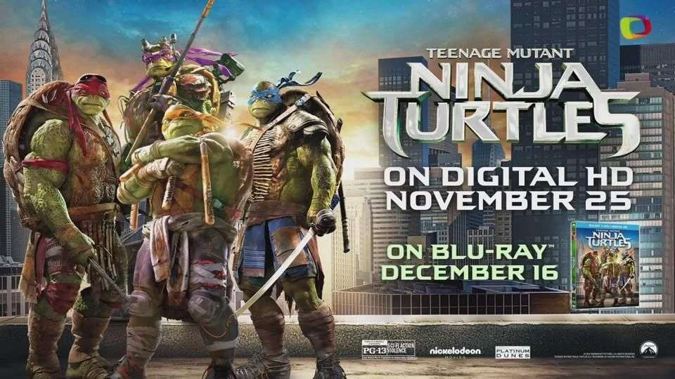 'Teengage Mutant Ninja Turtles' el regalo perfecto para la temporada de fiestas
