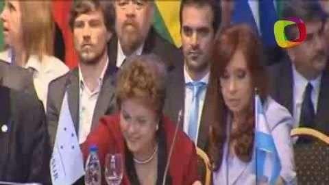 Rousseff asume titularidad del Mercosur