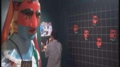 Al menos 65 máscaras son exhibidas en el Museo de Arte Popular en El Salvador