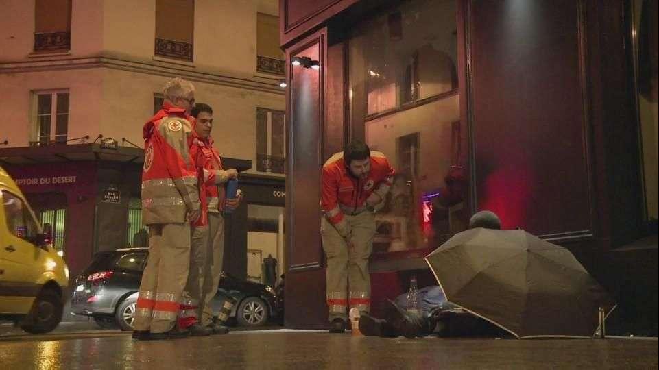 Ola de frío mata cinco personas sin techo en Francia