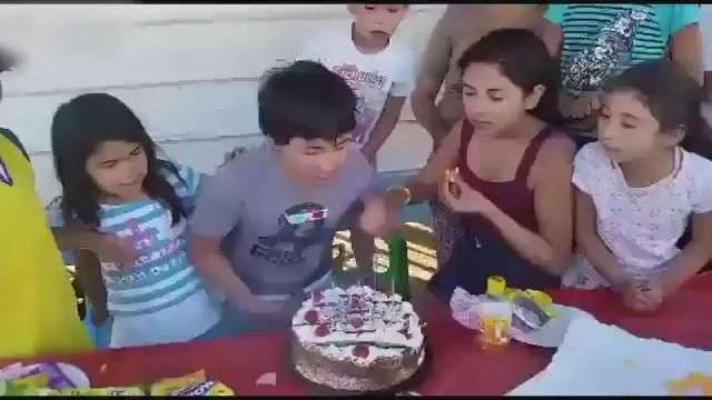 Claramente esta no es la mejor forma de un cumpleaños feliz