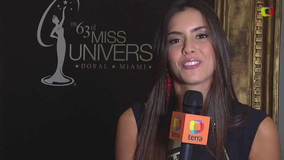 Miss Universo 2015; Miss Colombia lista mentalmente para ganar la corona