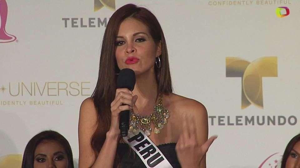 Miss Universo 2015: El espíritu bello también es importante para Miss Perú