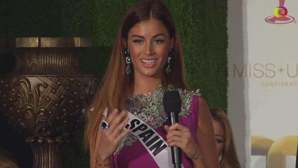 Miss Universo 2015: Desiré Cordero busca una segunda corona para España