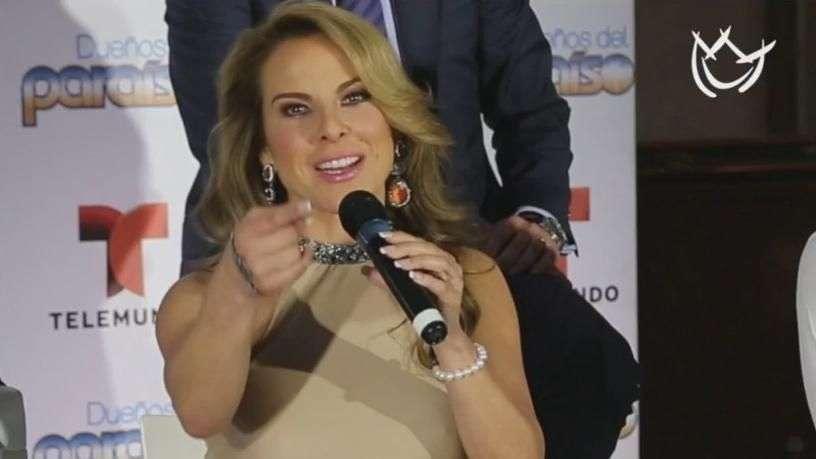 Kate del Castillo no es tan fuerte como parece