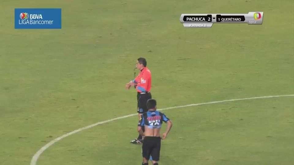 Jornada 3, Pachuca 2-1 Querétaro, Clausura 2015