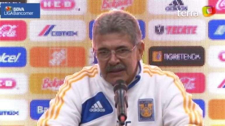 """Tuca"" Ferretti acepta derrota por ""errores infantiles"" en Tigres"