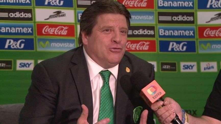 Miguel Herrera detalla trabajo de la Selección Mexicana en 2015