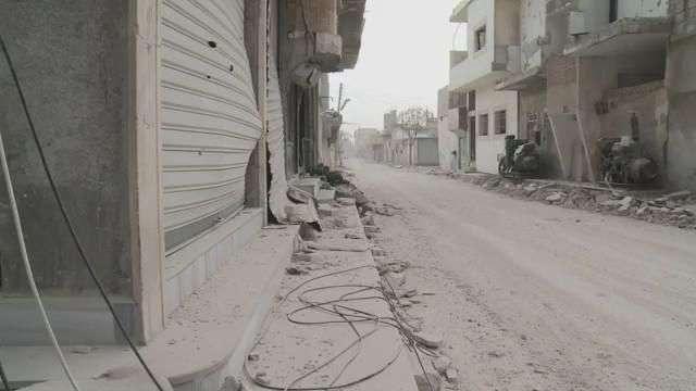 Kobane, después de ser liberada por fuerzas kurdas del Estado Islámico