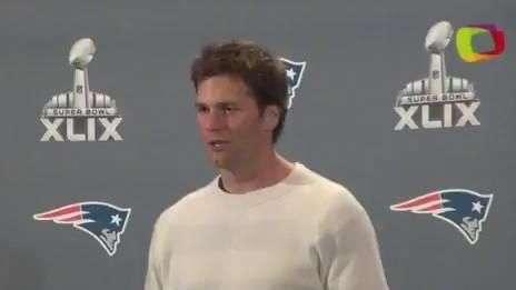 En conferencia: Tom Brady