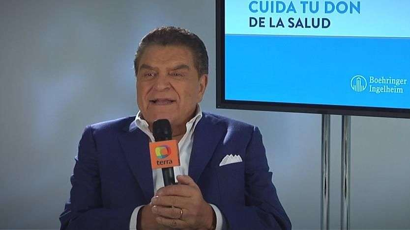 Don Francisco comparte estilo de vida contra diabetes en 'Cuida tu Don'