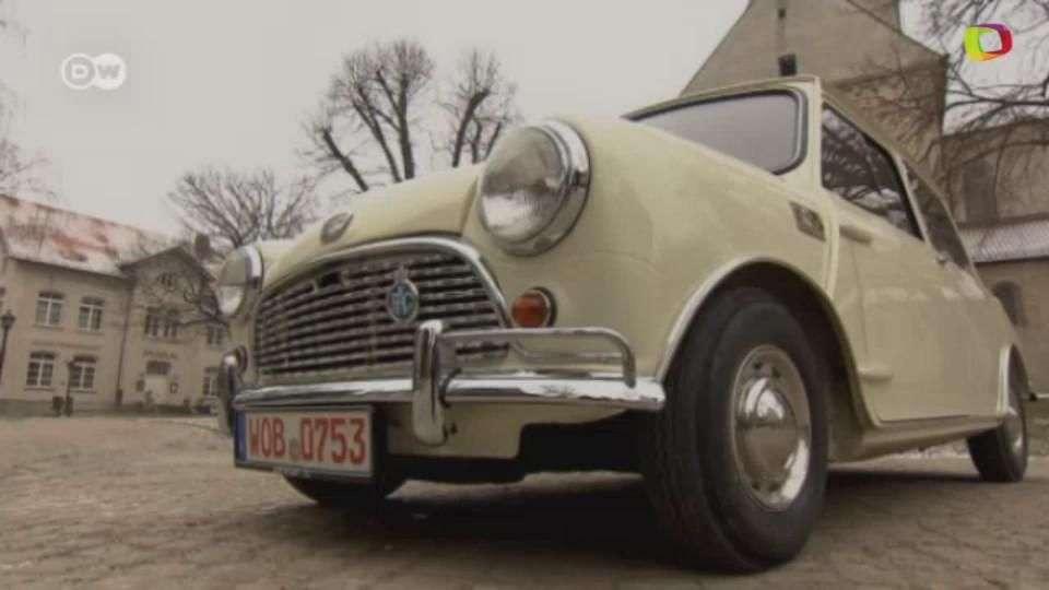 Austin Mini el n.º 1.000.000 de 1965, con estilo