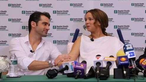 Adamari López y novio, de la risa al llanto