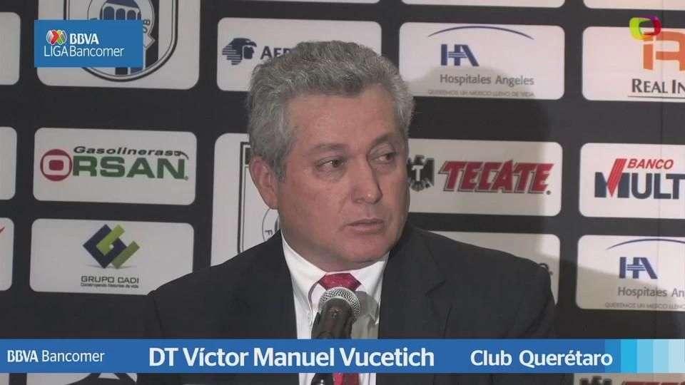 Jornada 11, Víctor Manuel Vucetich,  Querétaro 2-0 Atlas, Liga Mx, Clausura 2015