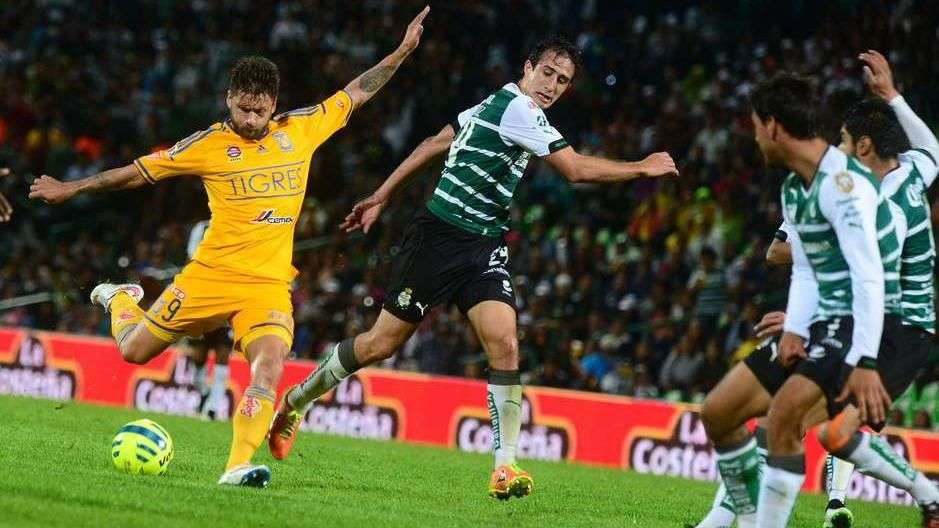 Jornada 11, Santos 2-2 Tigres, Liga Mx, Clausura 2015