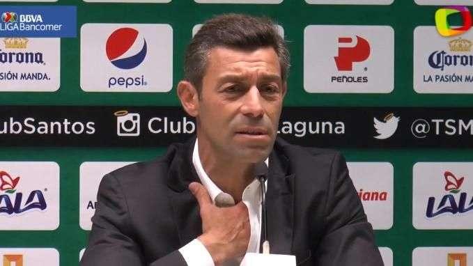 """""""Los árbitros son malos y prepotentes"""", señala Pedro Caixinha"""