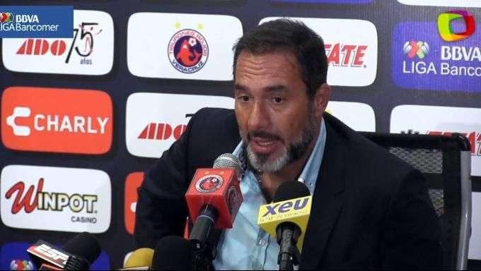 Gustavo Matosas pide disculpas a afición del América por goleada en Veracruz