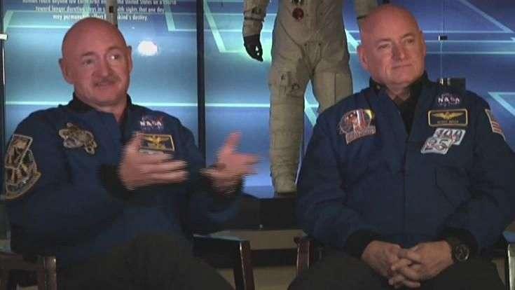 Gemelos astronautas ayudan a la NASA en misión a Marte