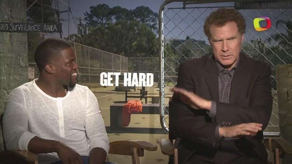 Kevin Hart da clases de dureza a Will Ferrell para 'Get Hard'