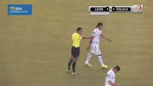 Jornada14, León 1-1 Toluca, Clausura 2015, Liga mx