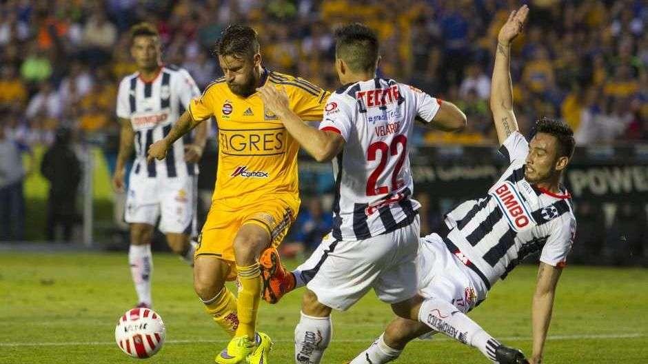 Jornada 14, Tigres 3-0 Rayados, Liga Mx, Clausura 2015