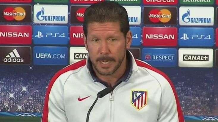 Atlético está listo para enfrentar al mejor equipo del mundo